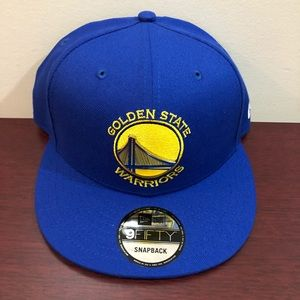 New Era 9Fifty Snapback Hat, Golden State Warriors